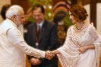PM Modi With Top Dignitaries at News18 Rising India Summit