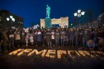 People Pay Tribute to Victims of Russian Mall Fire