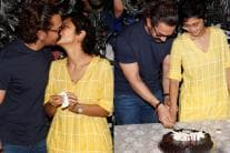 Aamir Khan Celebrates Birthday With Media; See Pictures