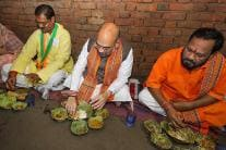 Dalit Family Hosts Lunch for BJP President Amit Shah in Odisha