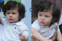 Cute Pictures of Taimur Ali Khan From His Latest Outing