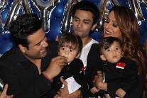 Krushna Abhishek & Kashmera Shah's twins' 1st B'day Party