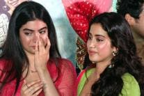 Janhvi Kapoor, Khushi Break Down To Tears at 'Dhadak' Trailer Launch