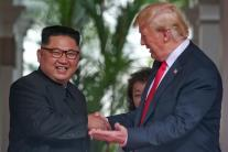 PHOTOS: Donald Trump Meets Kim Jong Un at Singapore Summit