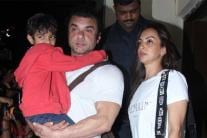PICS: Salman Khan's Family at 'Race 3' Special Screening
