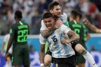 In Pics, FIFA World Cup, Match 38, Argentina vs Nigeria