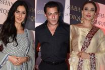 PHOTOS| Salman Khan and his Exes at Baba Siddique's Iftar Party