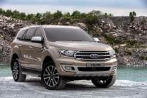 2018 Ford Endeavour (Everest) SUV Facelift Detailed Gallery