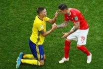 In Pics, FIFA World Cup 2018, Round of 16: Sweden vs Switzerland