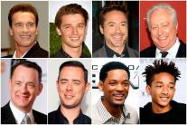 Hollywood Celebrity Fathers and Sons