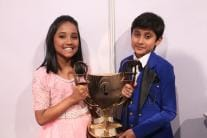 Sa Re Ga Ma Pa L'il Champs 2017: Anjali & Shreyan Lift the Trophy