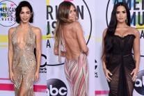 America Music Awards 2017: Divas Sizzle on the Red Carpet