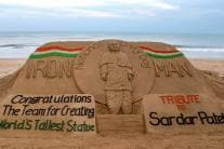 24 Remarkable Sand Sculptures by Sand Artist Sudarshan Pattnaik