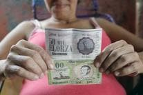Venezuela's Elorza Issues Its Own Paper Currency Amid Cash Crunch
