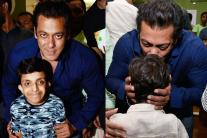 Salman Khan Bonds With Students at School's Annual Day Function