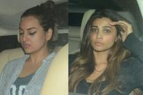Bollywood Celebrities at Salman Khan's Residence; See Pics