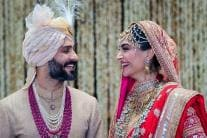 PICS: Sonam Kapoor and Anand Ahuja's Star-Studded Wedding