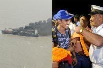 MV SSL Kolkata Crew Members Return Safely at Haldia Port