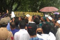 Funeral of Slain Rising Kashmir Journalist Shujaat Bukhari