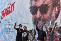 Day in Photos - June 7: Kaala Movie Release Protest; Heavy Rainfall in Mumbai; Fuel Price Hike Protest