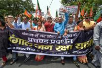 Day in Photos - June 18: BJP Protest; Dragon Boat Festival; Nationwide Truck Strike
