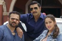 Rohit Shetty, K'Jo With 'Simmba' Pair Ranveer Singh & Sara Ali Khan