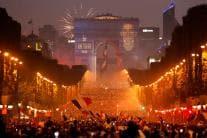 France Celebrates World Cup Win, Fans Go Berserk in Paris