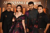 Parineeti Chopra & Arjun Kapoor Turn Showstoppers for Shantanu-Nikhil