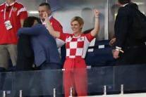 Meet World Cup Finalist Croatia's Biggest Fan, President Kolinda Grabar-Kitarović