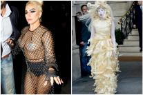 In Pictures: Singer Lady Gaga's Uniquely Bizarre Style