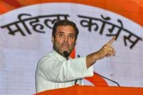 Rahul Gandhi Addresses the Mahila Adhikar Sammelan