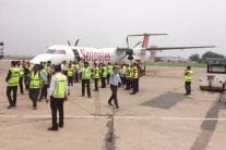 SpiceJet Conducts First Test of Bio-Fuel Powered Plane
