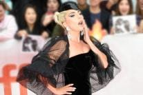 'Star is Born' Actress Lady Gaga Stuns in Black at TIFF Awards '18