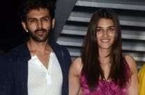 'Luka Chuppi' Wrap-Up Party: Kriti Sanon, Kartik Aaryan Party Hard