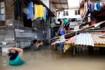 People in Philippines Rebuild Their Lives as Tyohoon Mangkhut Weakens