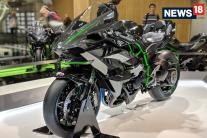 Paris Motor Show 2018: New Kawasaki Ninja H2R Superbike Worth Rs 72 Lakh - Image Gallery