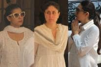 Celebs Visit Krishna Raj Kapoor's House to Pay Last Respects