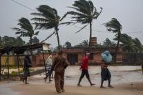 PHOTOS: Cyclone Titli Hits Odisha-Andhra Pradesh Coast