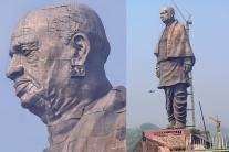 Final Touches Given to Statue Of Unity - World's Tallest Statue of Sardar Vallabhbhai Patel