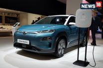 Paris Motor Show 2018: India-Bound Hyundai Kona Electric Crossover Showcased - Image Gallery