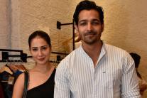 Kim Sharma and Harshvardhan Grace Toile Launch; See Pics