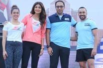 Bollywood Stars at Skechers Performance Mumbai Walkathon 2018