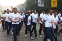 Thousands Run for Unity to Mark Sardar Patel's Birth Anniversary