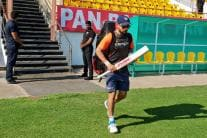 In Pics | Team India Sweat it Out Ahead of Rajkot Test