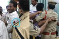 YS Jaganmohan Reddy Stabbed at Vizag Airport, Suffers Injury