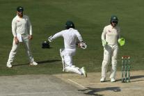 In Pics   Pakistan vs Australia, First Test, Day 1 at Dubai