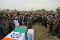 Martyr Varun Katal Cremated with Full Military Honours