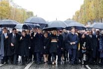 World Leaders Mark World War I Centenary; See Pictures