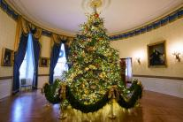 2018 Christmas Decorations at the White House; See Pictures