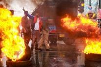 Day in Photos - November 2: Delhi Air Pollution; Mahindra Blazo X Launch; Congress Protest